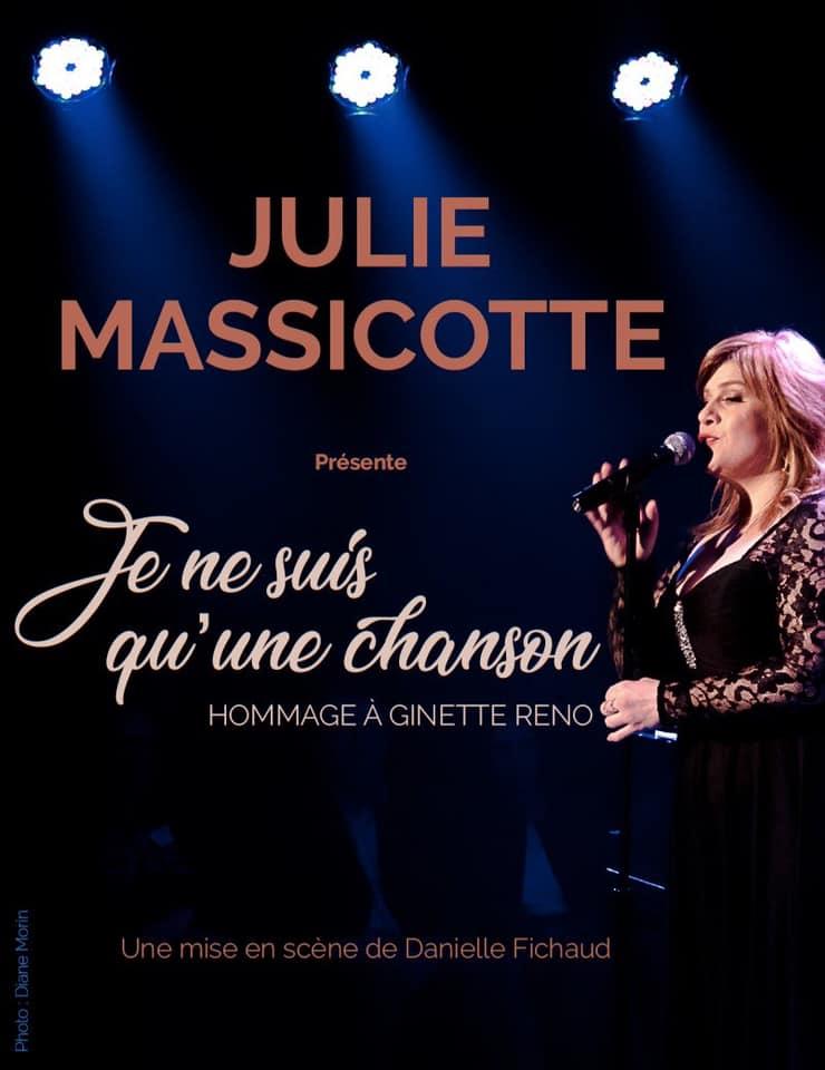 Julie Massicotte - Hommage Ginette Reno